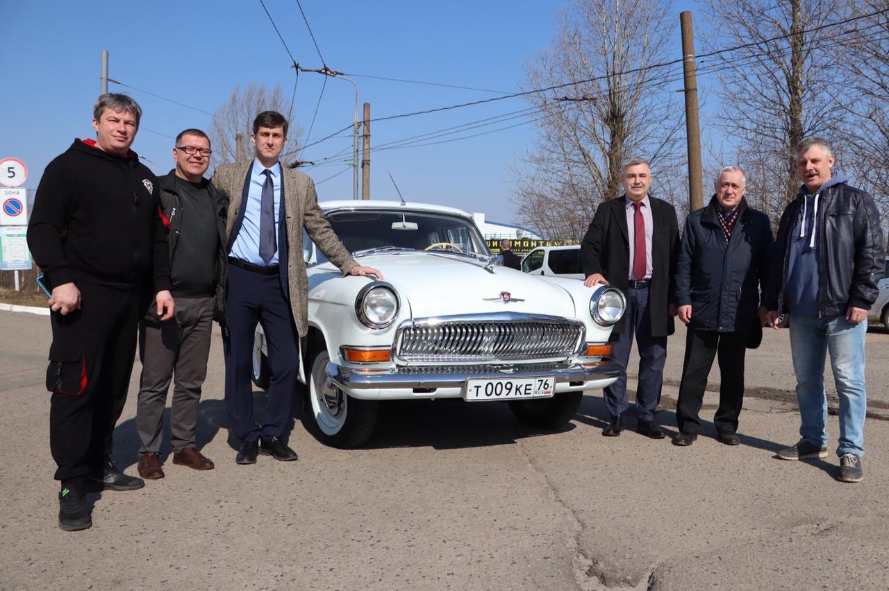 В Ярославле в честь 60-летия полета Гагарина в космос прошел автопробег