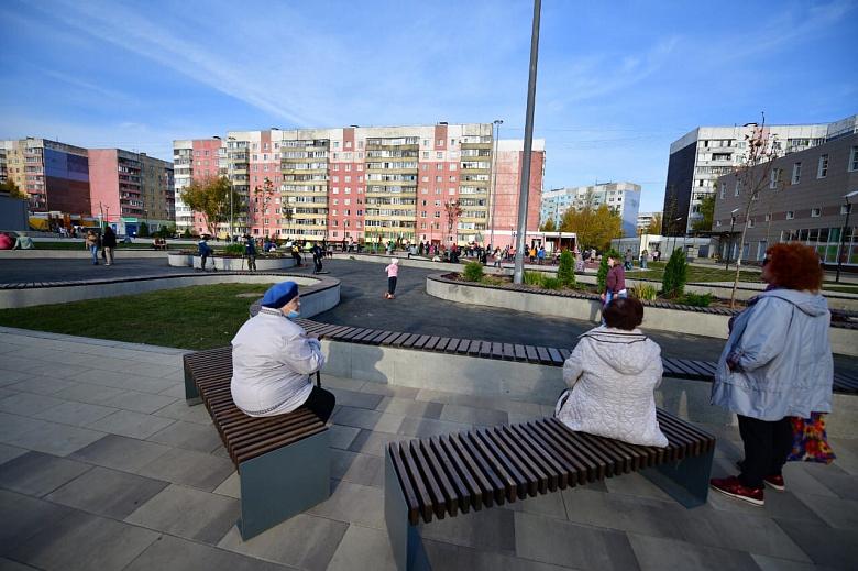 Минстрой признал благоустройство сквера в Ярославле одним из лучших реализованных проектов в 2020 году