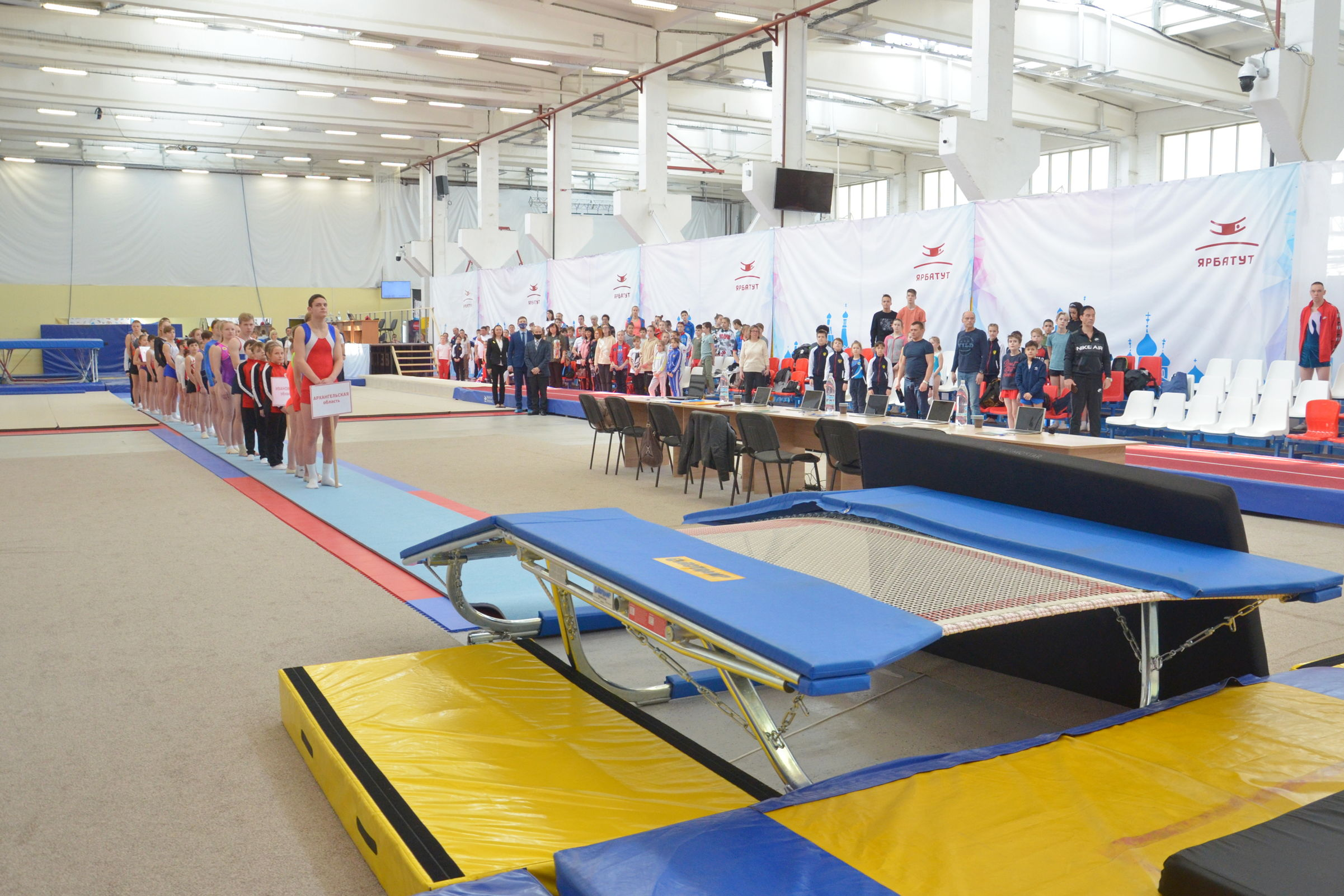 Кубок Ярослава Мудрого по прыжкам на батуте впервые проходит в Ярославле