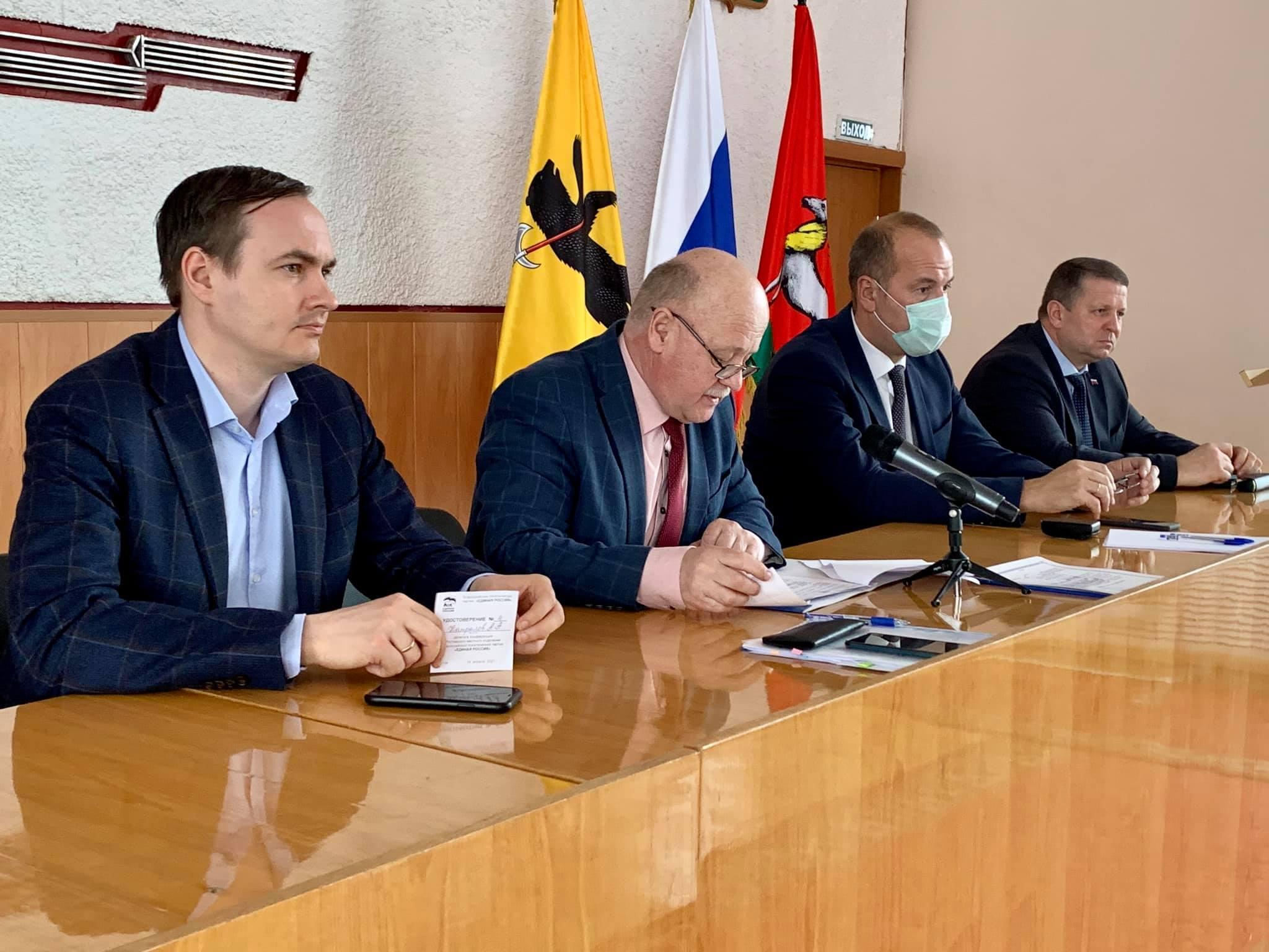 В районах Ярославской области обсуждают проекты благоустройства территорий на 2022 год