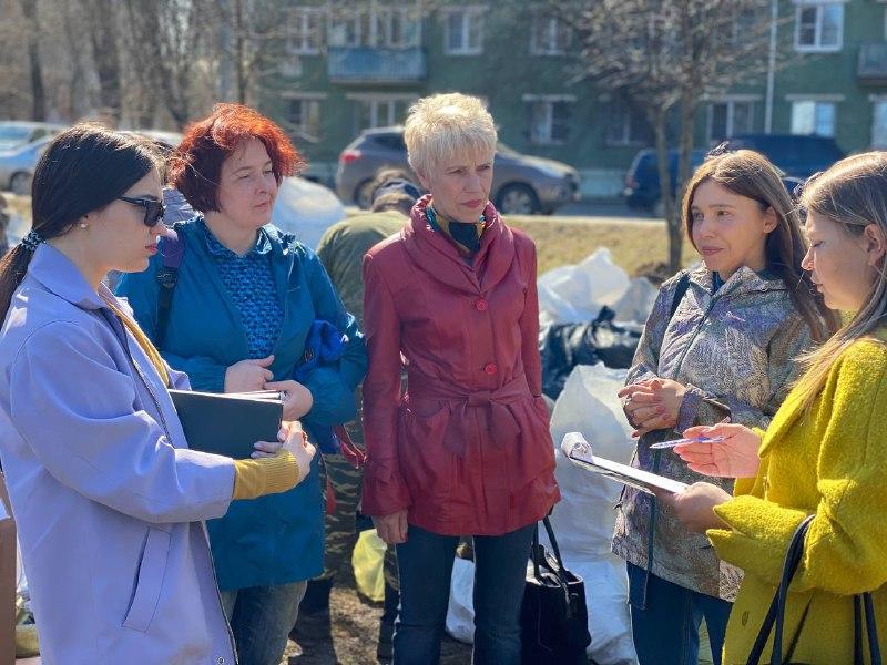 В Рыбинске местные жители обсуждают проекты благоустройства Волжского парка