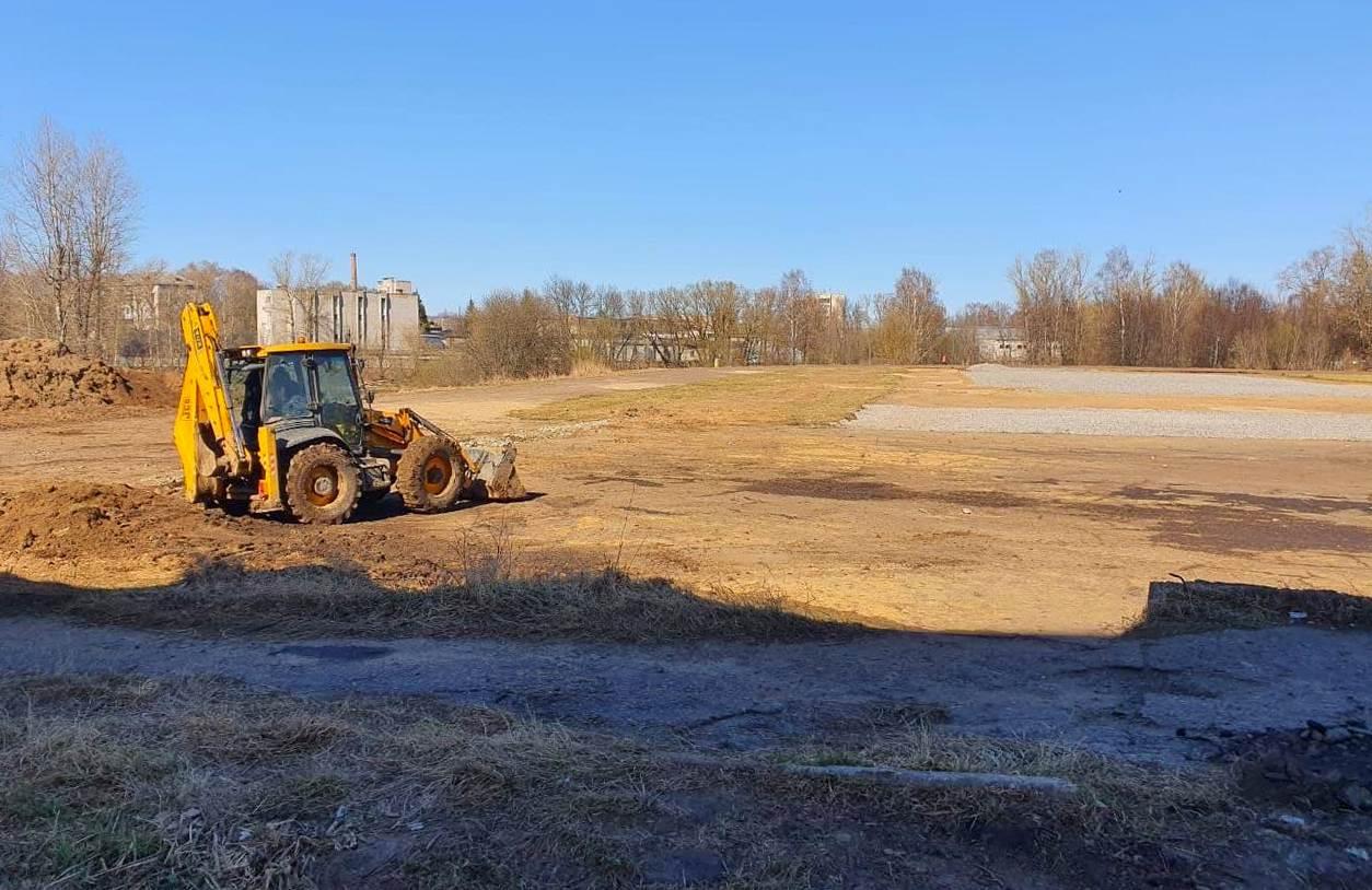 Строительство ФОКа в Рыбинске планируют завершить в ноябре