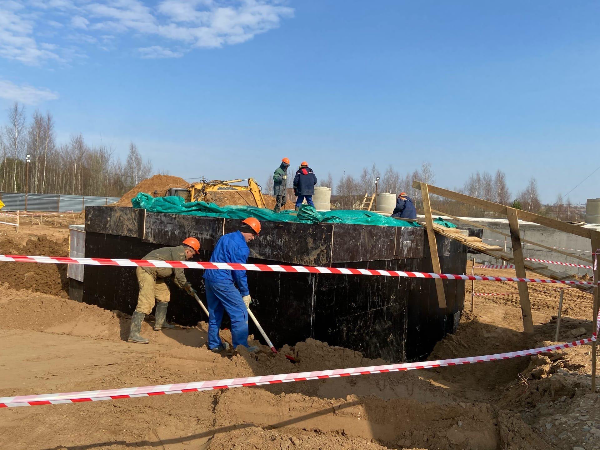 Новую станцию водоподготовки в Красных Ткачах введут в эксплуатацию осенью