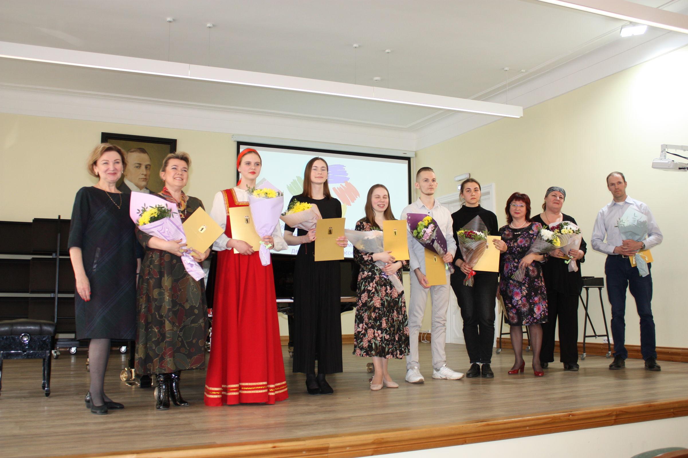 Победители Дельфийских игр получили областные награды