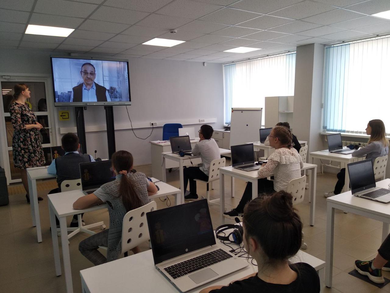Тутаевские школьники приняли участие в «Уроке цифры» по вопросам автоматизации предприятий и учреждений
