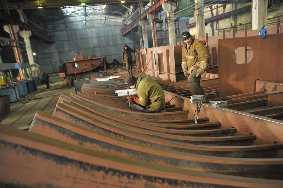 Рыбинский судостроительный завод повысит производительность труда на 30 процентов
