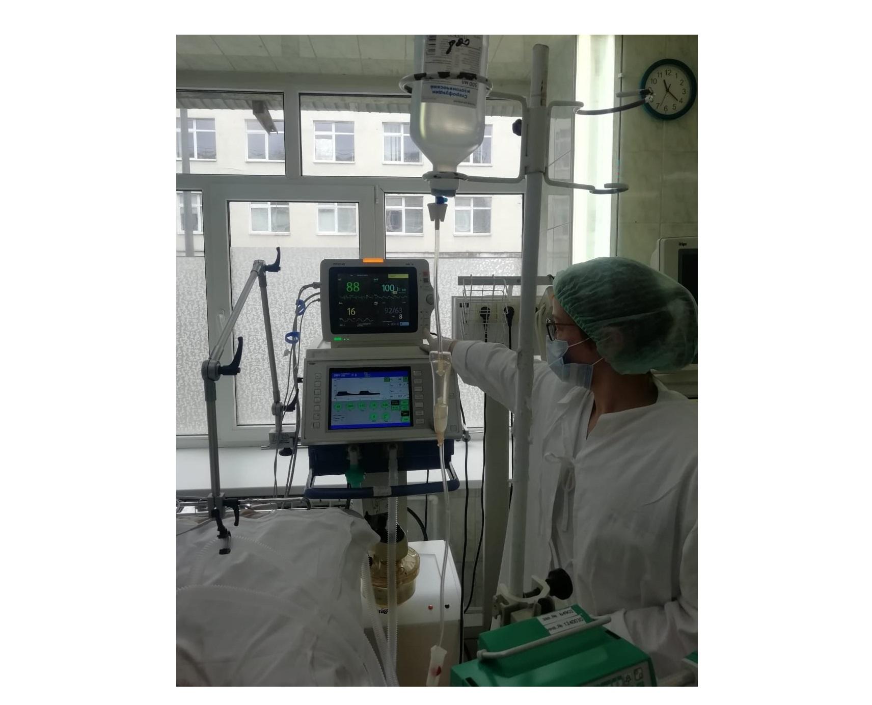 Новое оборудование поступило в больницу скорой помощи имени Соловьева