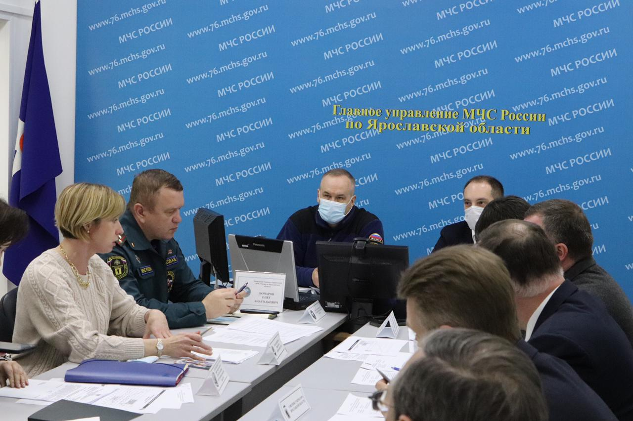 В Ярославской области из-за паводка ввели режим повышенной готовности