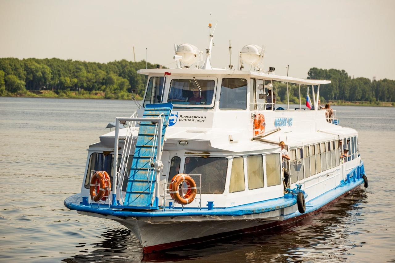 Навигация в Ярославской области откроется в начале мая