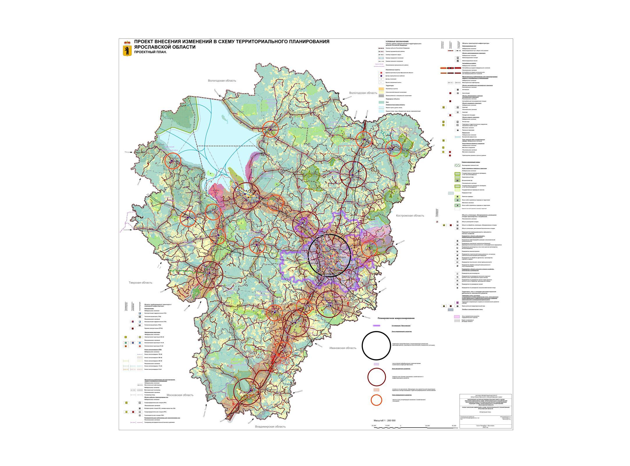 Обновлена схема территориального планирования Ярославской области