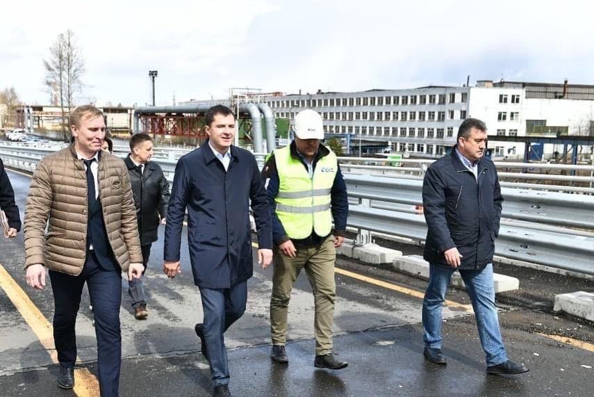 В Ярославле начали ремонтные работы на Добрынинском мосту