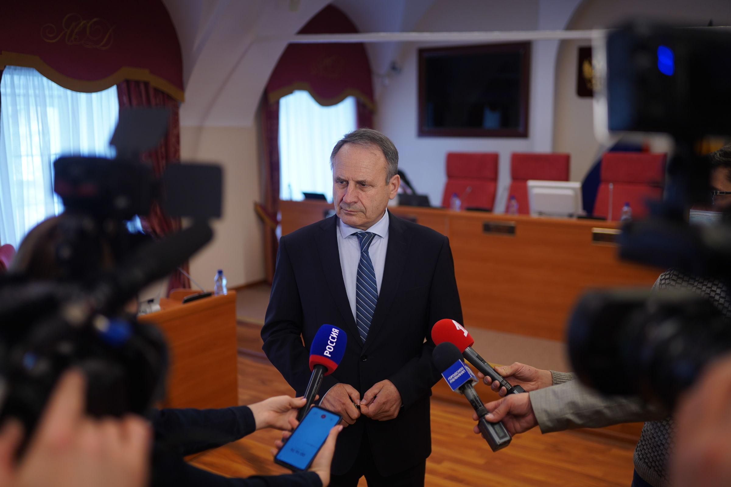 Михаил Боровицкий: парламентарии заслуженно дали положительную оценку работы правительства по итогам прошедшего периода
