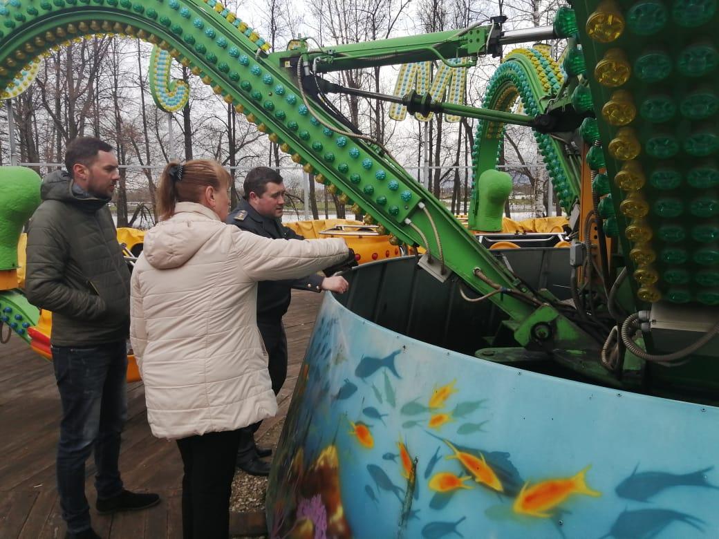 Все уличные аттракционы в Ярославле прошли проверку на соответствие требованиям безопасности