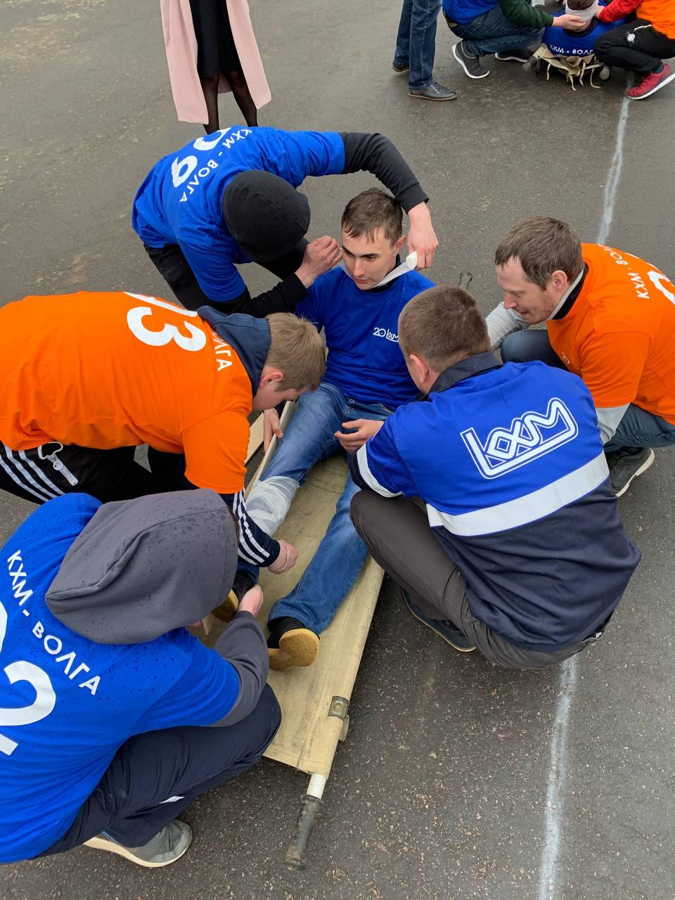 На крупных российских предприятиях отмечают день безопасности труда