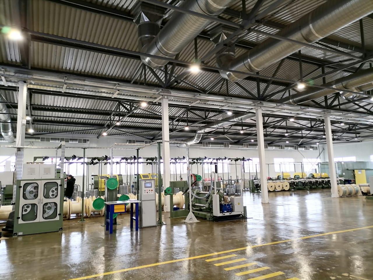 В Ярославской области запустили производство кабеля и систем автоматики и контроля