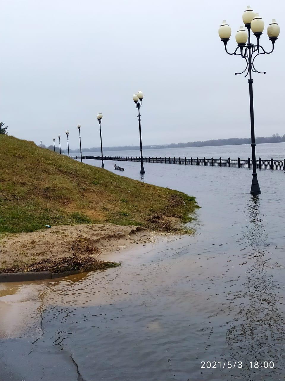 Несмотря на аномальные метеорологические условия, уровень воды в Рыбинском водохранилище остается стабильным