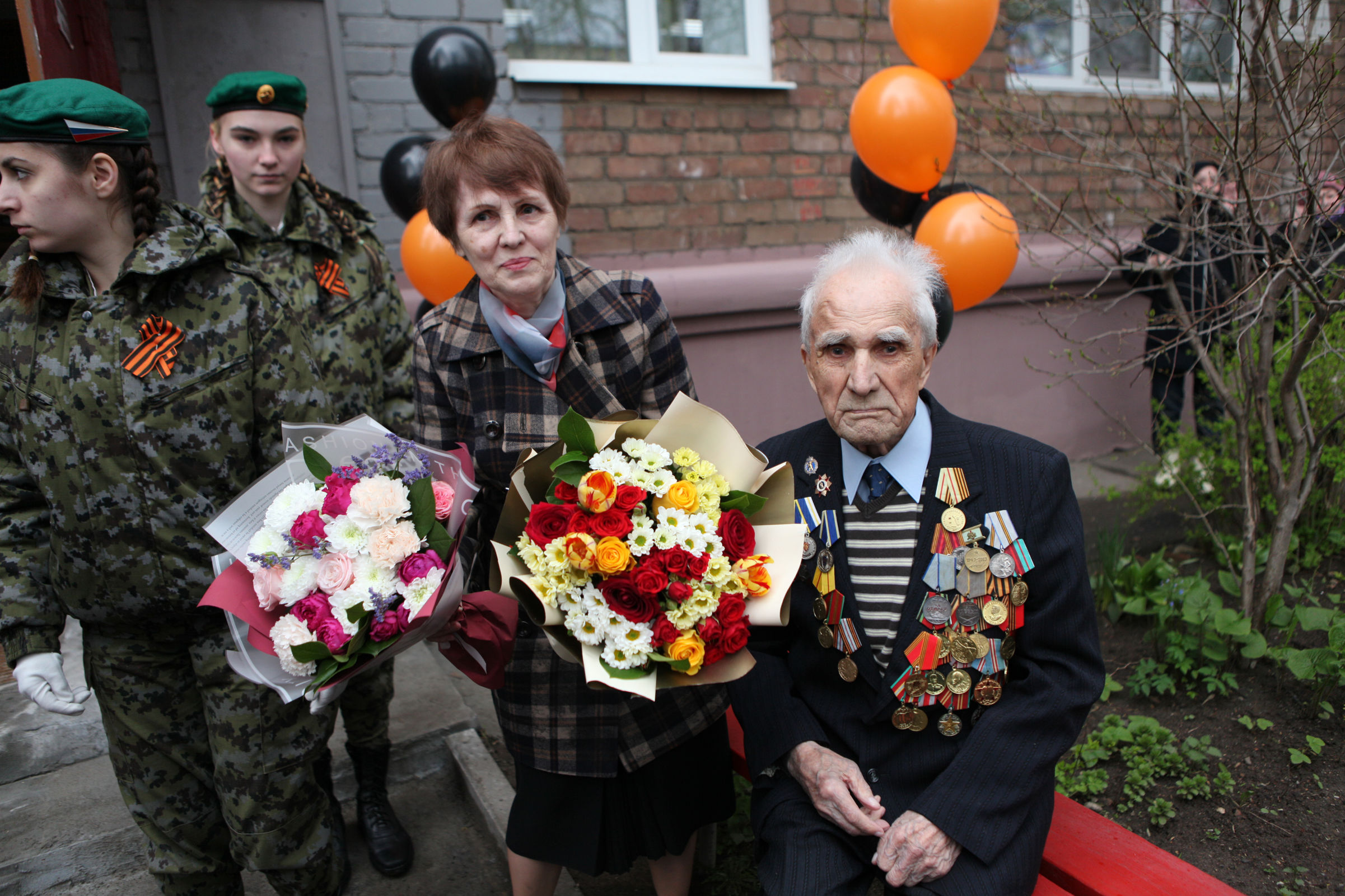 В Ярославле поздравили ветерана Великой Отечественной войны со 105-летием