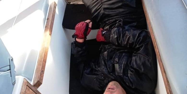 В Ярославле спасли рыбака, выпавшего из резиновой лодки на Волге