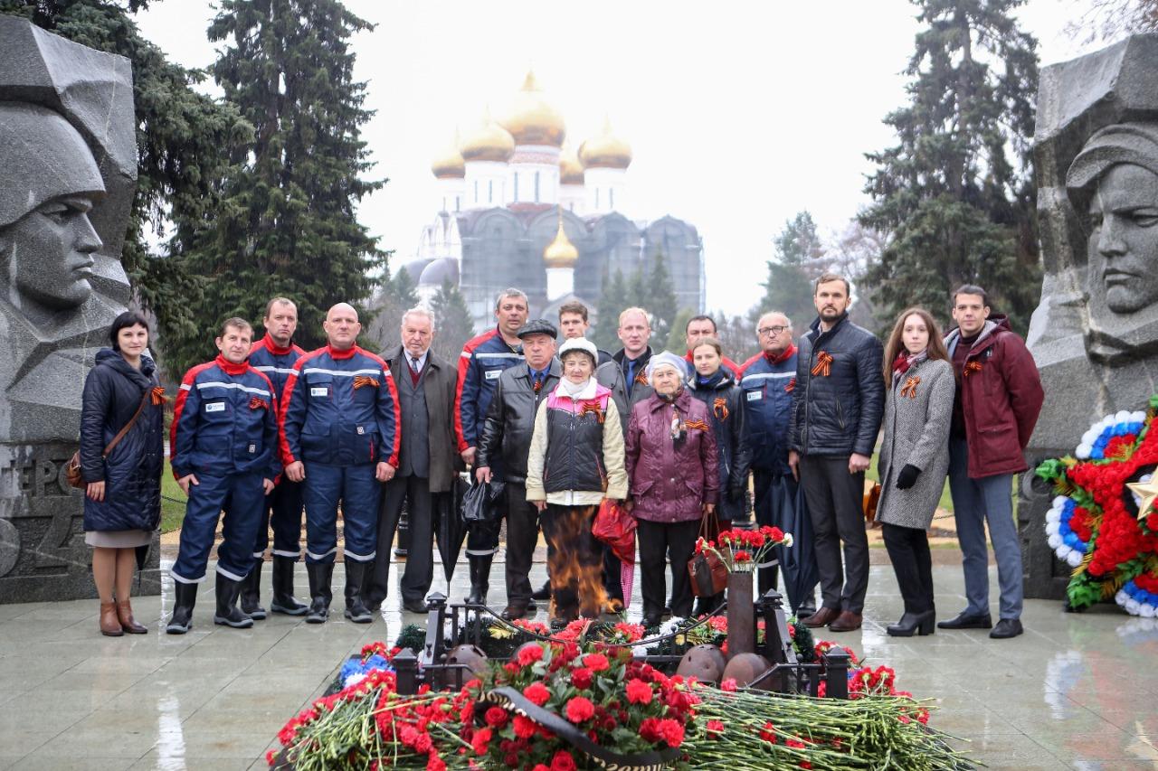 Ярославские энергетики приняли участие в автопробеге в честь 76-летия со Дня Победы в Великой Отечественной войне