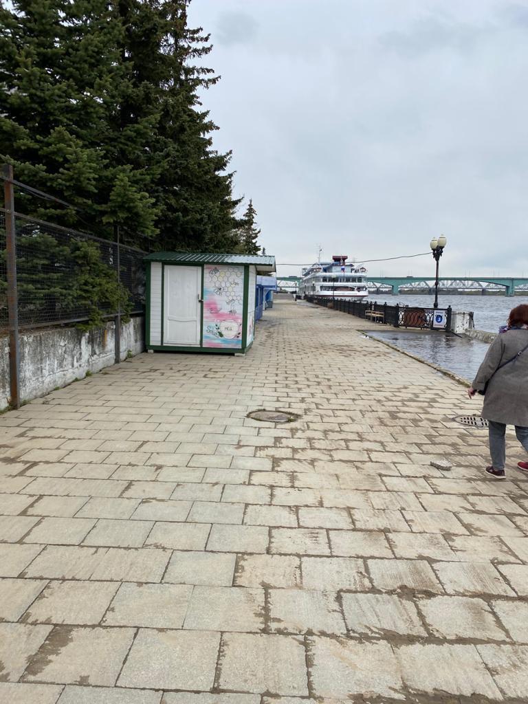 С набережных Ярославля и Рыбинска ушла вода