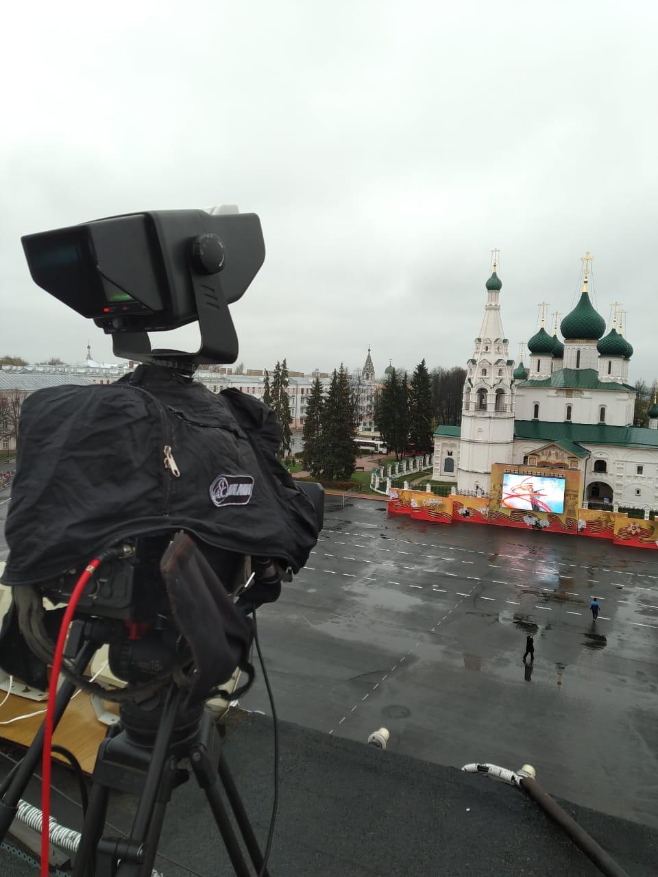 Телеканал «Первый Ярославский» проведет трансляцию Парада Победы с Советской площади