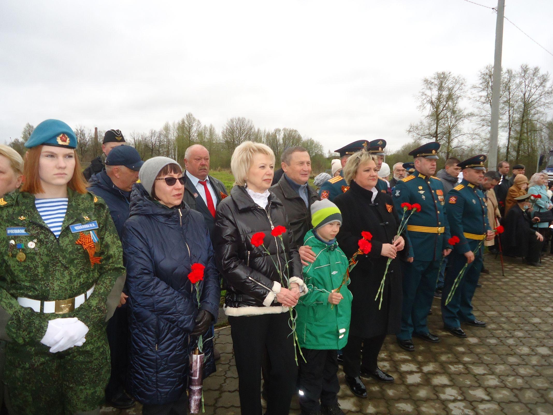 Депутат Лариса Ушакова: «Память и гордость выражаем делами»