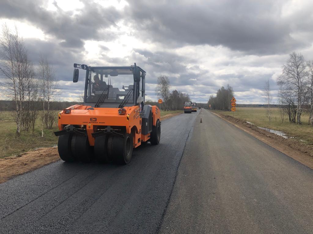 Более 15 километров дороги Данилов – Пошехонье отремонтируют в этом году в рамках нацпроекта