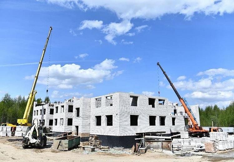 Во Фрунзенском районе Ярославля строят два детских сада: учреждения должны открыть к концу года