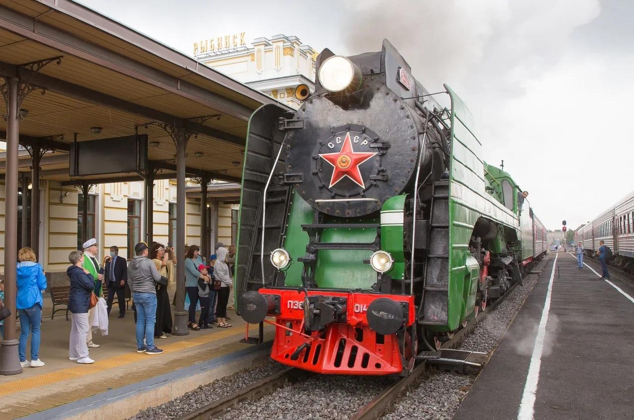 Более 5 тысяч пассажиров проехали на ретропоезде с января этого года