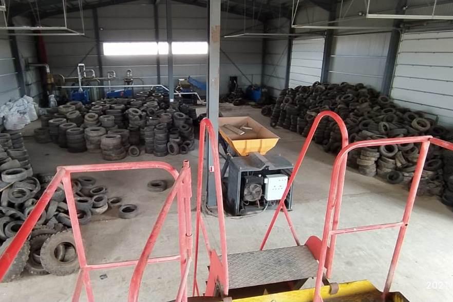 35 кубометров изношенных шин сдали ярославцы в рамках акции полигона «Скоково»