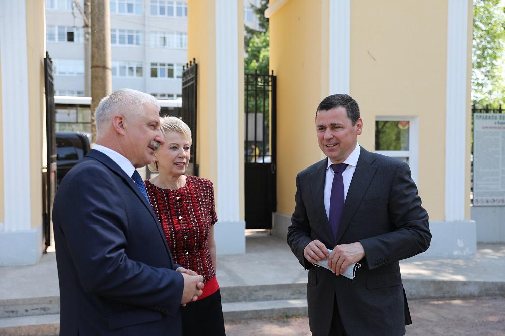 Дмитрий Миронов побывал с рабочим визитом в Рыбинске