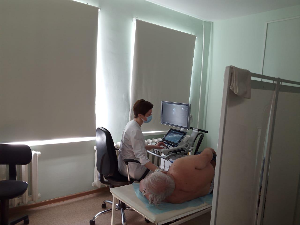 На базе госпиталя ветеранов войн начал работать областной кардиодиспансер