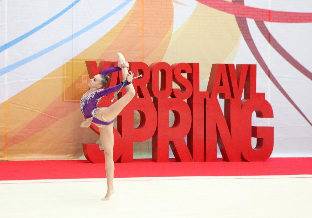 Международный турнир по художественной гимнастике «Ярославская весна» собрал спортсменок из 13 стран