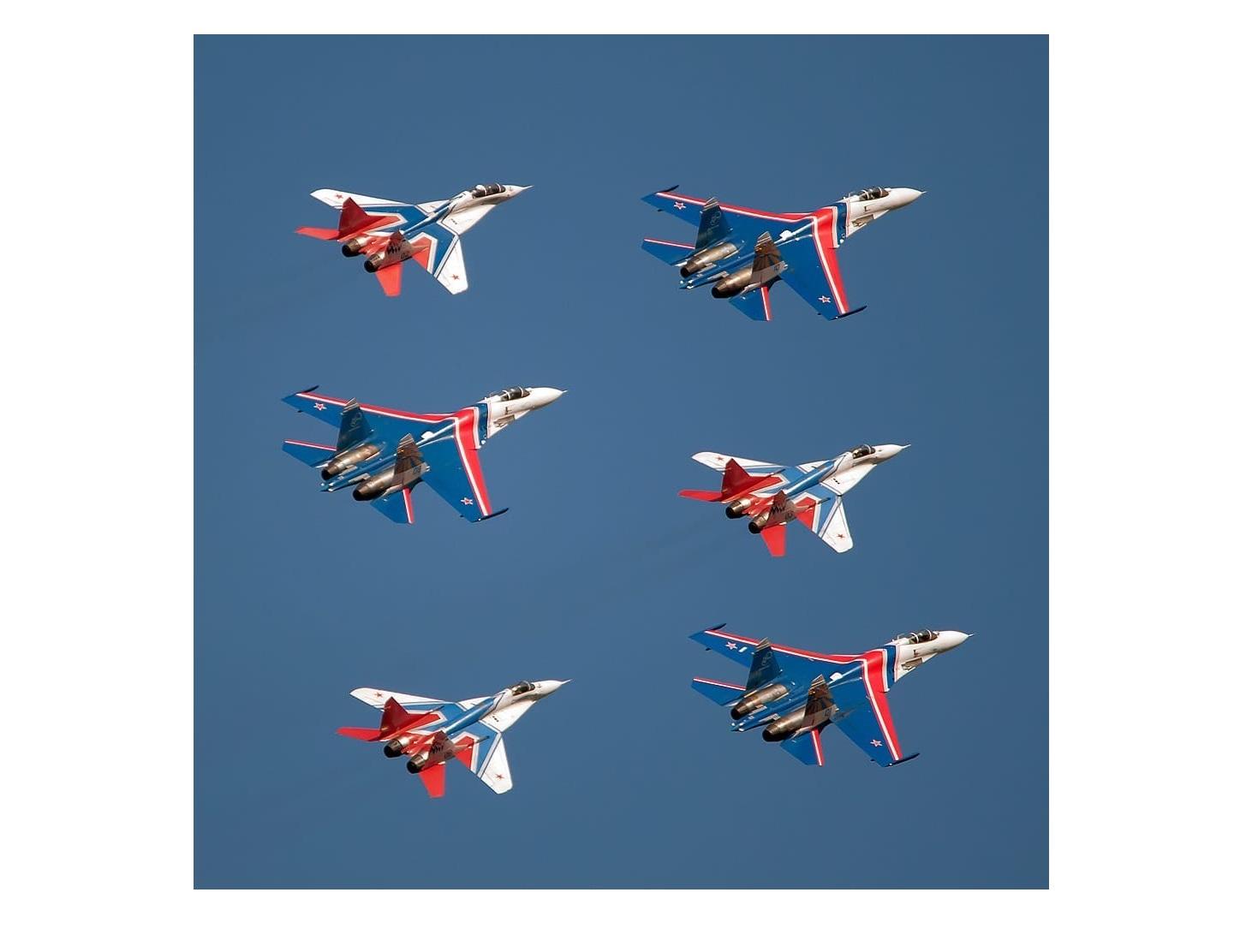 В Ярославле и Переславле 12 июня пройдет шоу авиационной группы высшего пилотажа ВВС России «Стрижи»