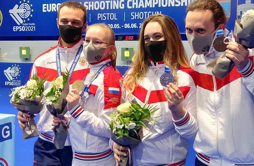 Ярославна Анастасия Галашина завоевала титул чемпионки Европы по стрельбе из винтовки