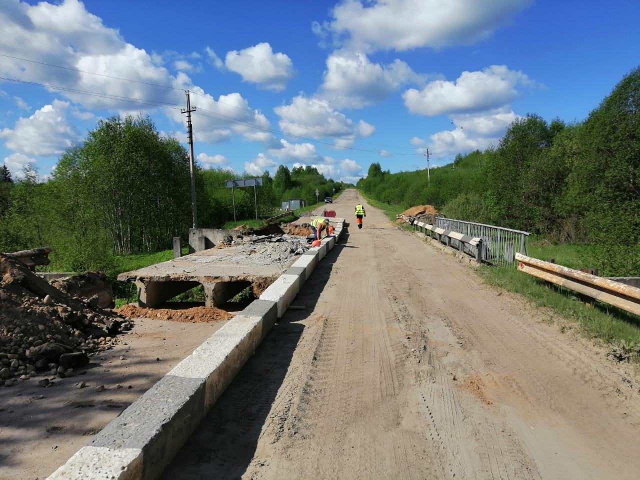 Начался ремонт мостов в четырех районах Ярославской области