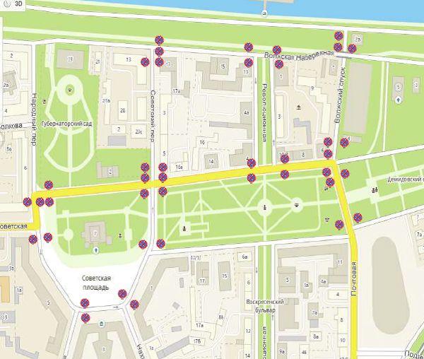 В центре Ярославля временно ограничат движение транспорта