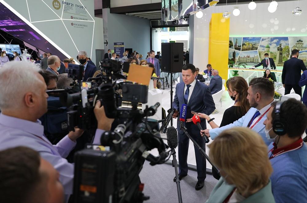 Дмитрий Миронов: инвестиционный портфель ПМЭФ-2021 составил 30 млрд рублей
