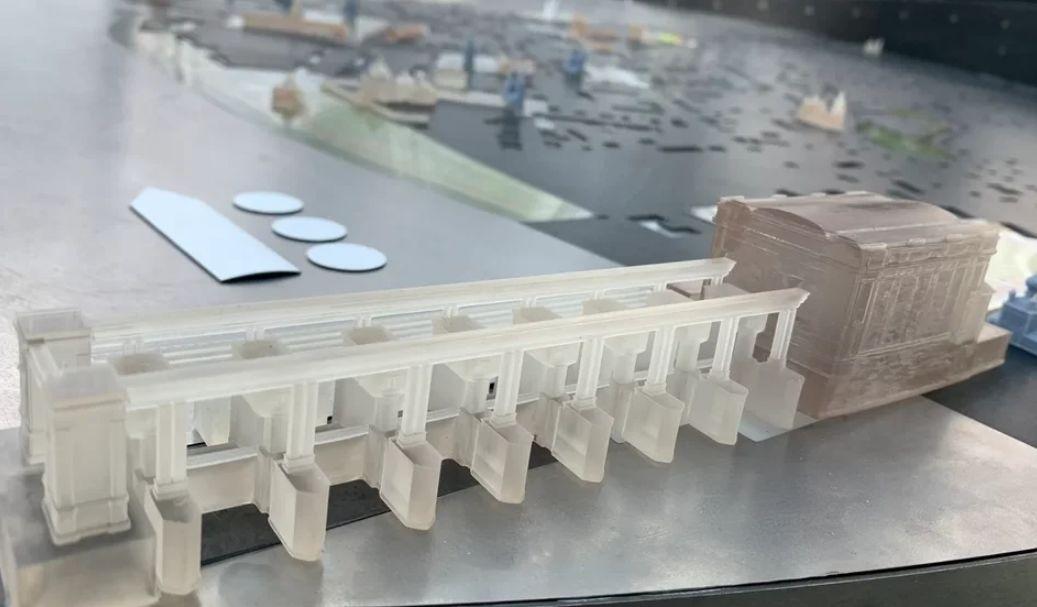 Ярославский стенд с изображением «зеленого» мастер-плана города Углича победил на выставке «Арх Москва 2021»