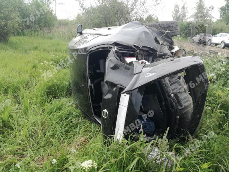 В Ярославской области в ДТП пострадали женщина и двое детей