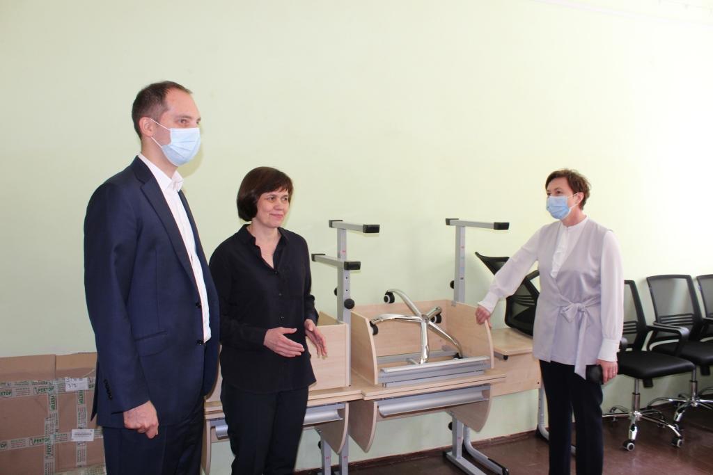 Мастерские для профессиональной подготовки воспитанников создают в ярославской школе-интернате №9