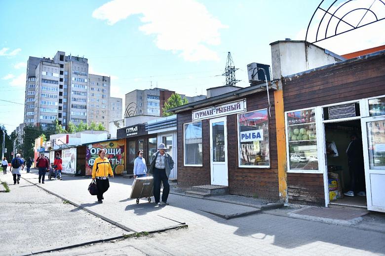 В Заволжском районе Ярославля уберут незаконные ларьки у ТЦ «Яркий»
