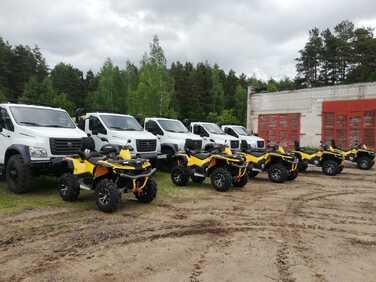 Восемь мотовездеходов для специалистов лесной отрасли поступило в Ярославскую область в рамках нацпроекта «Экология»