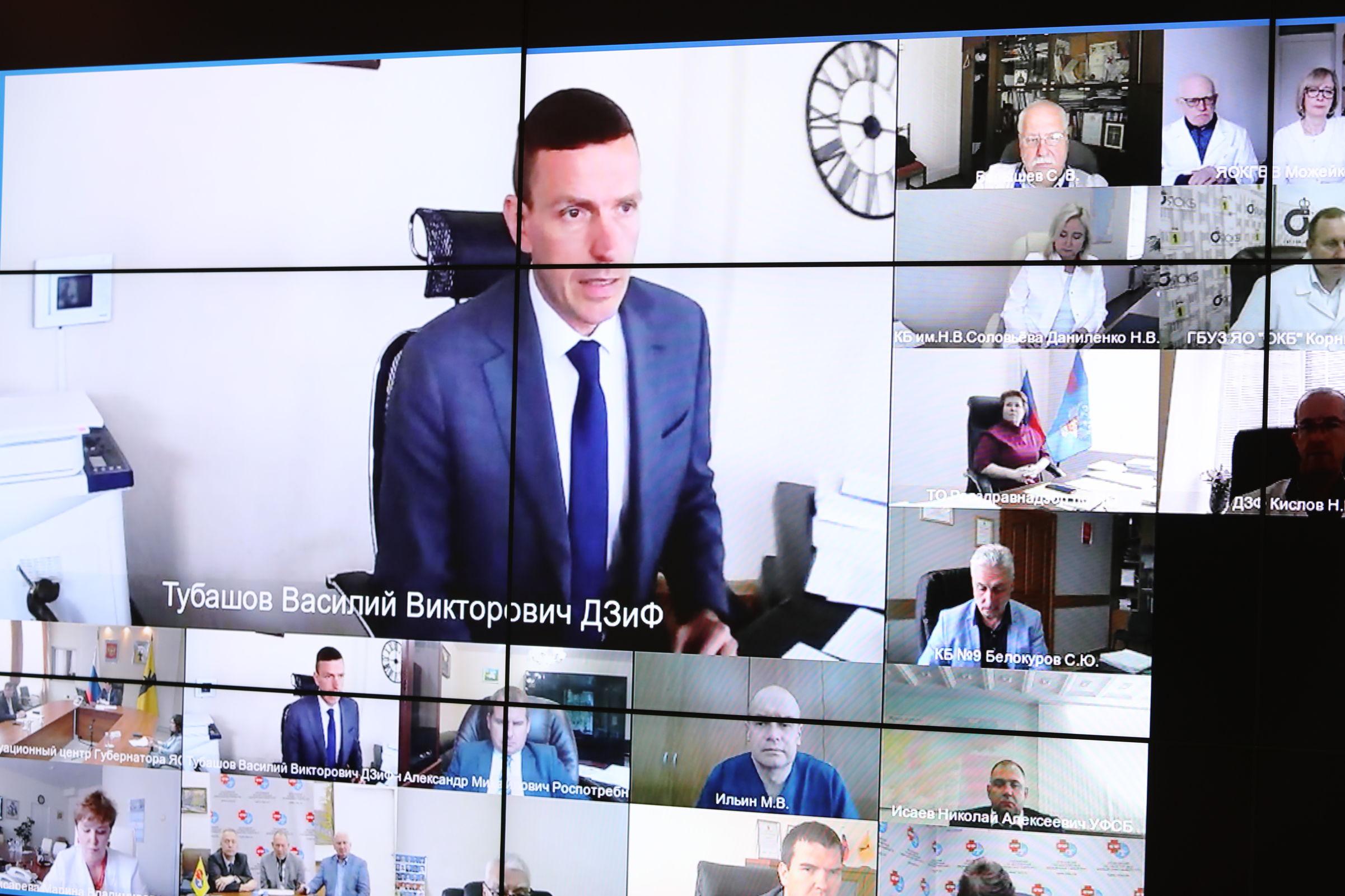 Дмитрий Миронов пригласил войти в медицинский экспертный совет всех главврачей Ярославской области
