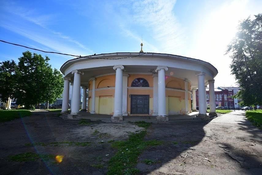 В центре Ярославля благоустроят сквер у Ротонды