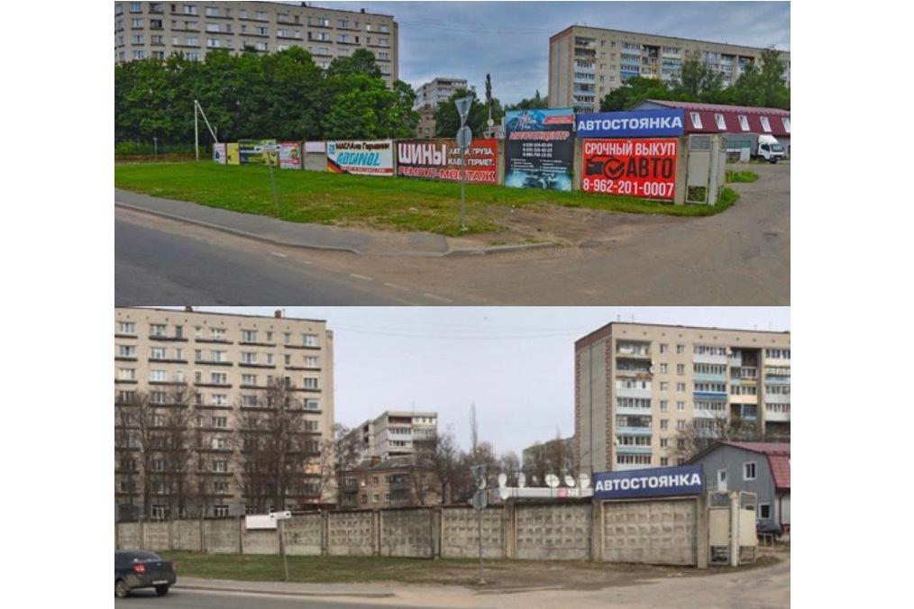 Более 400 незаконных рекламных конструкций демонтировано в регионе с начала года