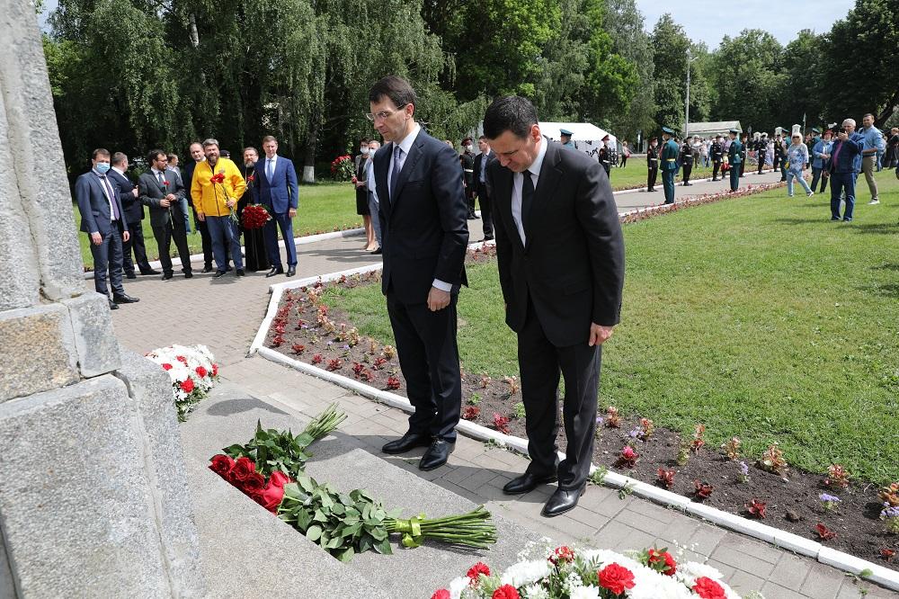 Губернатор и полпред Президента в ЦФО приняли участие в торжественных мероприятиях в Переславле