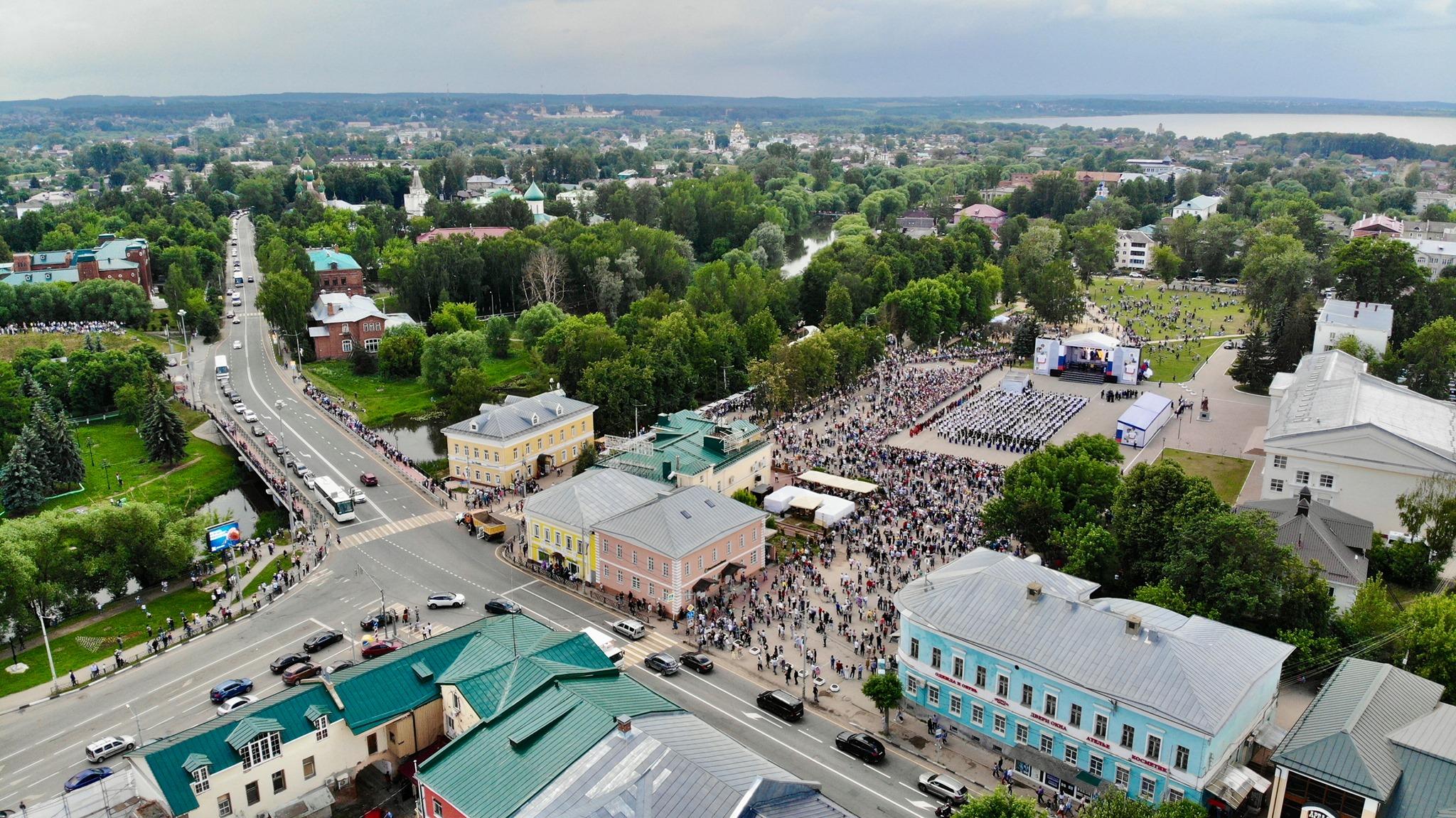 «Россия – это мы»: Андрей Коваленко поздравил ярославцев с Днем России
