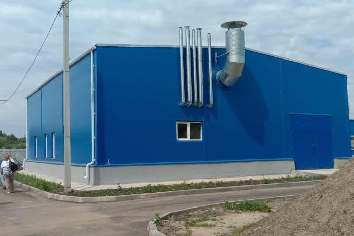 Новые очистные сооружения в Большом Селе Ярославской области рассчитаны на большие нагрузки