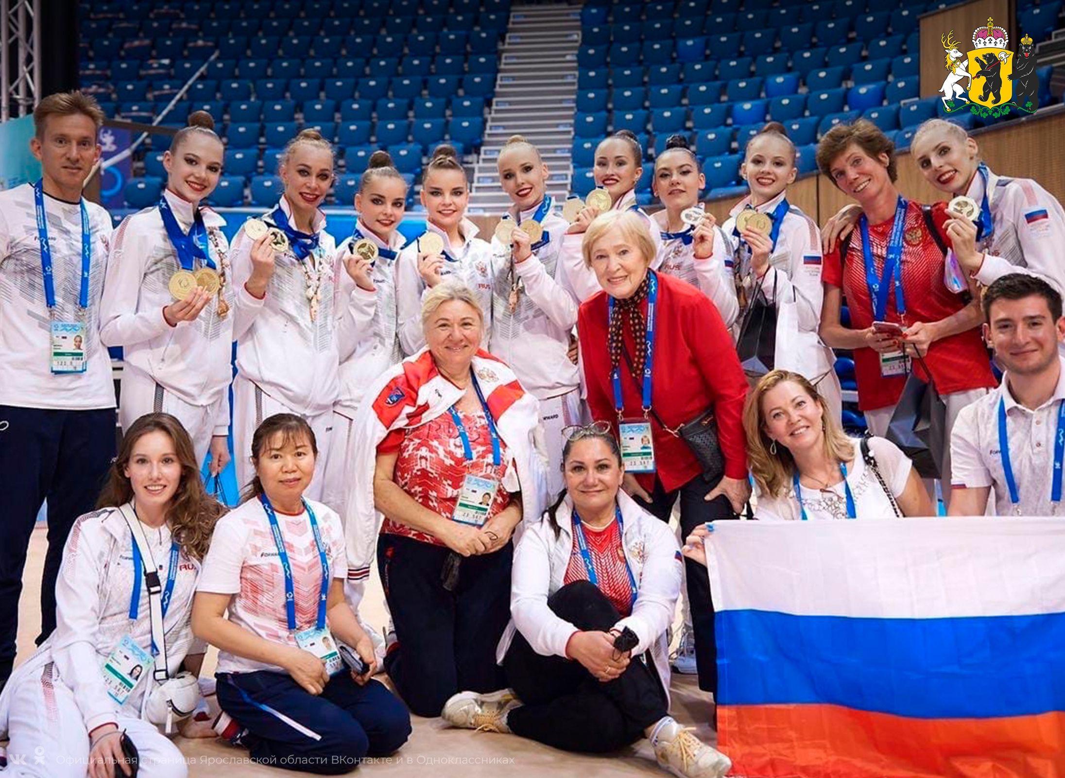Ярославская спортсменка стала двукратной чемпионкой Европы по художественной гимнастике